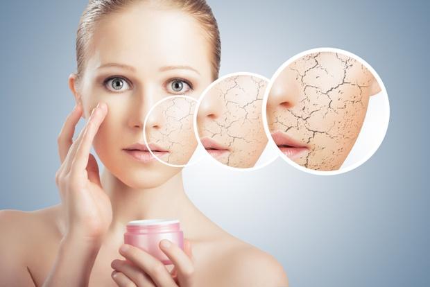 Trockene Haut pflegen