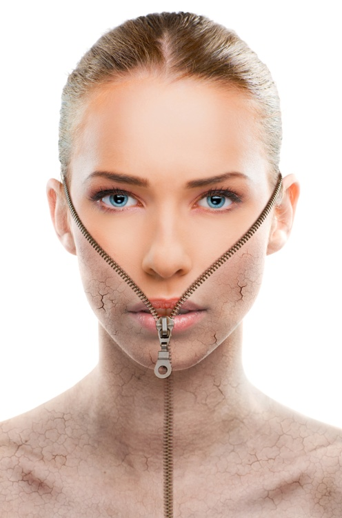 Pflege der Haut